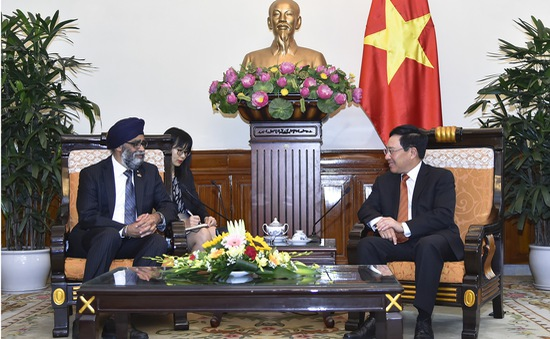 Canada mong muốn hợp tác quốc phòng lâu dài với Việt Nam