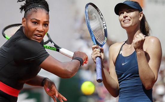 Giải Pháp mở rộng 2018: Williams bỏ cuộc, Sharapova thẳng tiến vào tứ kết