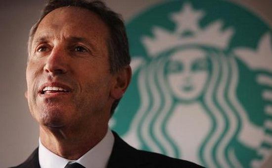 Đồn đoán ông chủ Starbucks tranh cử Tổng thống Mỹ