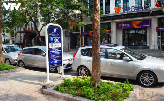 Bắt đầu cấp phép cho các điểm trông giữ xe iParking tại Hà Nội trong tháng 7