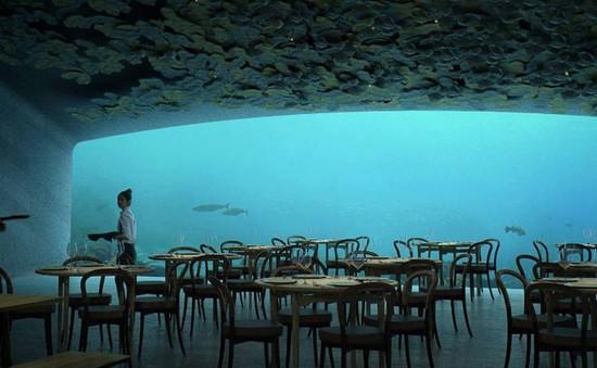 Độc đáo nhà hàng dưới biển đầu tiên tại châu Âu