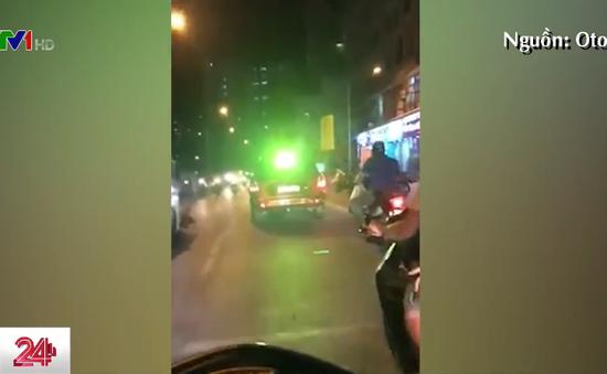 Ẩn họa tai nạn giao thông từ đèn Led siêu sáng