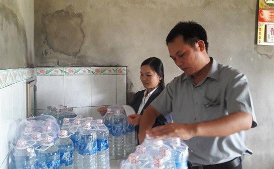 Quảng Trị: siết quản lý chất lượng nước uống đóng chai