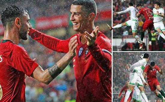 Giao hữu quốc tế: Bồ Đào Nha thắng nhẹ Algeria, Rashford tạo dấu ấn tại ĐT Anh
