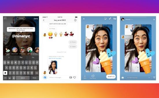 Instagram cập nhật, cho phép chia sẻ lại Story mà người dùng được nhắc tới