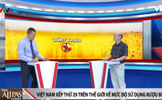 Sử dụng rượu, bia ở Việt Nam đang ở mức báo động