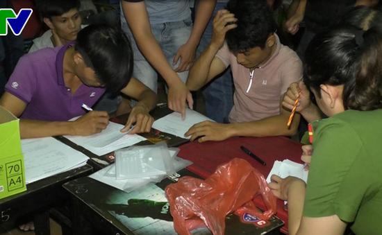 Triệt phá các đường dây cá độ bóng đá tại Đà Nẵng và Đồng Nai
