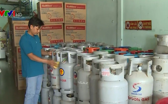 Giá gas tăng 1.000 đồng/bình 12kg