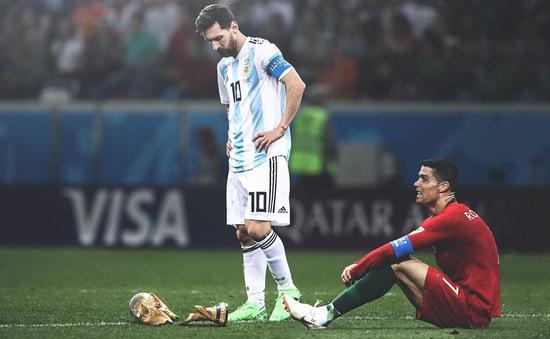 FIFA World Cup™ 2018: Về thôi Messi, C.Ronaldo! Thời thế thế thời...