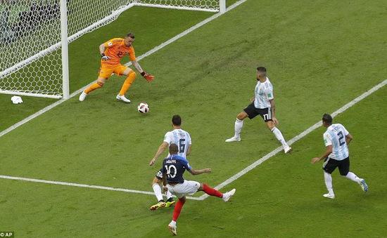 Xem màn trình diễn siêu việt của Mbappe trước ĐT Argentina tại FIFA World Cup™ 2018