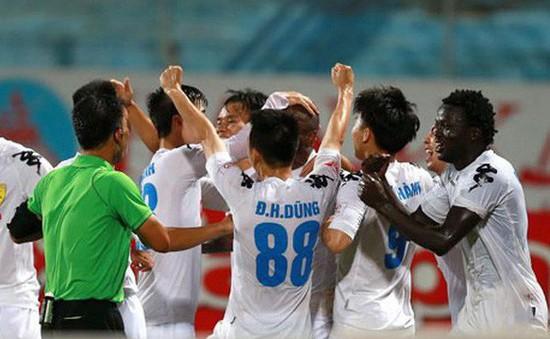 Vòng 17 Nuti Café V.League 2018: CLB Hà Nội ngược dòng đánh bại Than Quảng Ninh