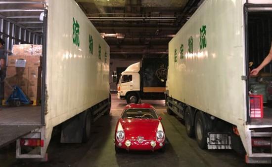 Một chỗ đỗ xe ở Hong Kong (Trung Quốc) có giá bằng 5 chiếc ôtô