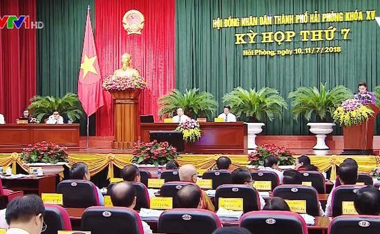 Chủ tịch Quốc hội dự khai mạc Kỳ họp thứ 7 HĐND thành phố Hải Phòng