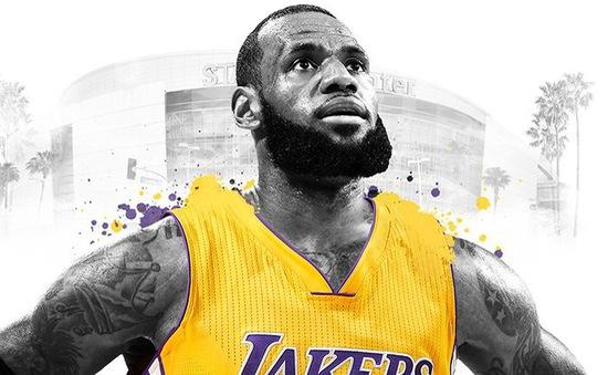 LeBron James chính thức ký hợp đồng với Los Angeles Lakers