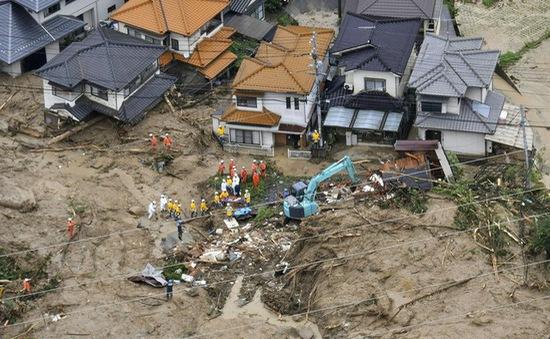 Nhật Bản căng mình đối phó với hậu quả lũ lụt lớn nhất gần 4 thập kỷ