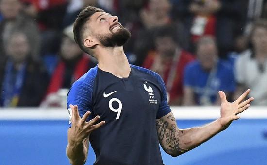 """""""Chân gỗ"""" Giroud không thể ngăn cản ĐT Pháp làm nên lịch sử ở FIFA World Cup™"""