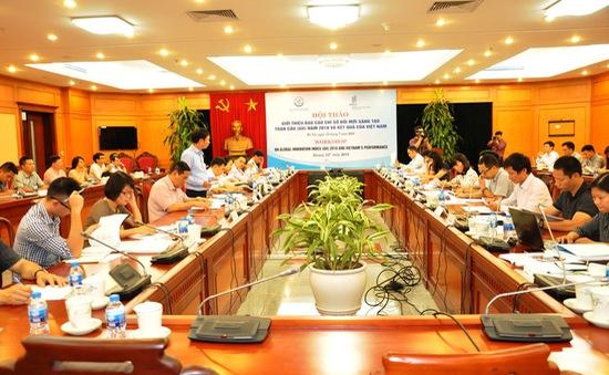 Trực tuyến giới thiệu báo cáo Chỉ số GII 2018 và kết quả của Việt Nam