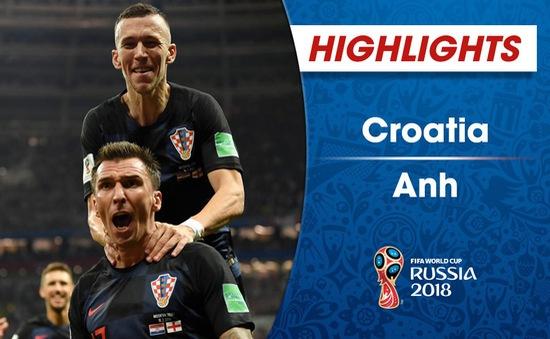 HIGHLIGHTS: ĐT Croatia 2-1 ĐT Anh (Bán kết FIFA World Cup™  2018)