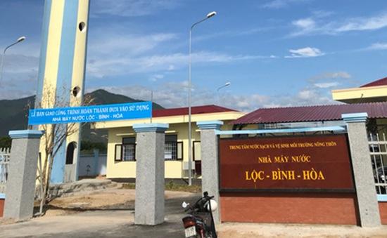 Khánh Hòa: Hoàn thành hệ thống cung cấp nước Lộc-Bình-Hòa ở Diên Khánh