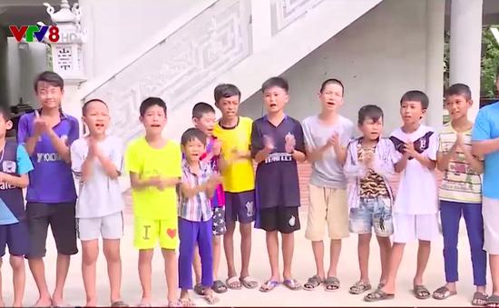 Ngôi chùa làng- điểm đến dịp hè của học sinh nghèo