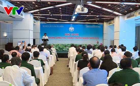 Tập huấn công tác thông tin đối ngoại năm 2018