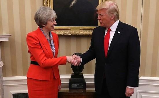 Tổng thống Mỹ Donald Trump lần đầu thăm Anh