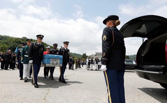 Hồi hương hài cốt binh sĩ thiệt mạng trong Chiến tranh Triều Tiên