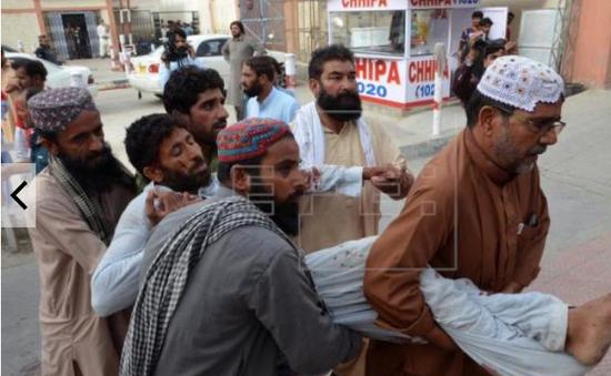 Đánh bom trước thềm bầu cử Pakistan, ít nhất 70 người thiệt mạng