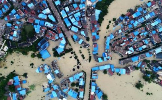 Mưa lũ lớn tại Tây Nam, Trung Quốc