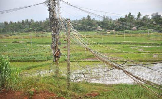 Nguy hiểm chết người trong mùa mưa bão