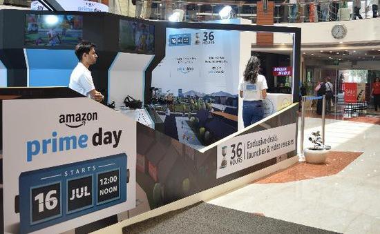 """Tốc độ phát triển """"chóng mặt"""" của sự kiện mua sắm trực tuyến Prime Day tại Mỹ"""