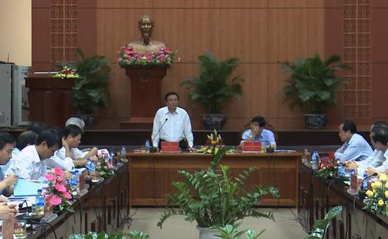 Bí thư Trung ương Đảng Nguyễn Xuân Thắng làm việc tại Quảng Nam và Đà Nẵng