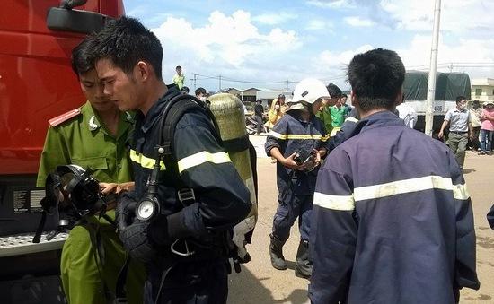 Rò rỉ khí gas, công nhân chạy tán loạn
