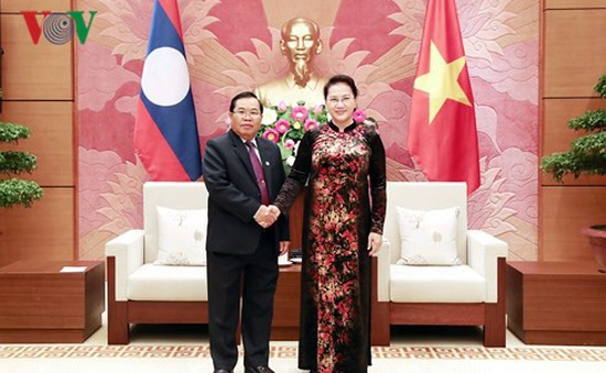Chủ tịch Quốc hội Nguyễn Thị Kim Ngân tiếp Phó Chủ tịch Quốc hội Lào