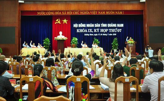 Bế mạc Kỳ họp thứ 7 Hội đồng Nhân dân tỉnh Quảng Nam khóa 9