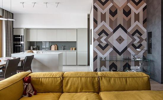 Cách sử dụng nội thất độc đáo trong căn hộ hiện đại