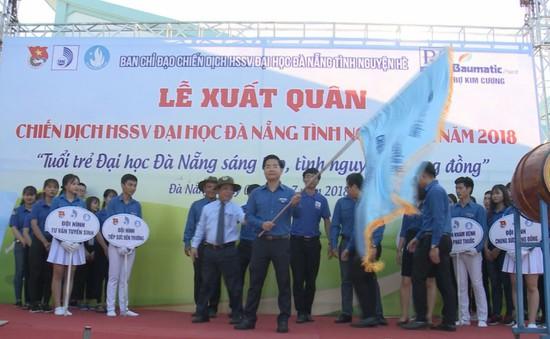 Đại học Đà Nẵng ra quân tình nguyện hè năm 2018