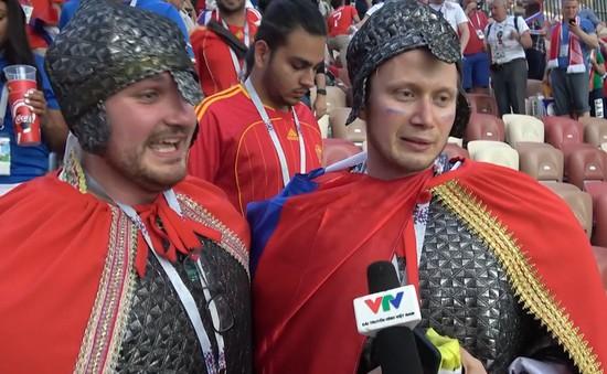 Phóng viên Thể Thao VTV tác nghiệp tại Nga: Niềm tự hào dân tộc sau trận Nga - Tây Ban Nha