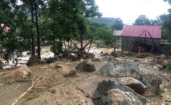21 người chết và mất tích do mưa lũ, lũ quét, sạt lở đất