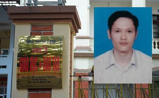 Khởi tố bị can, bắt tạm giam đối với Vũ Trọng Lương, người sửa điểm thi ở Hà Giang