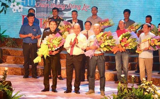 Thủ tướng dự lễ trao giải ca khúc kỷ niệm 50 năm chiến thắng Đồng Lộc
