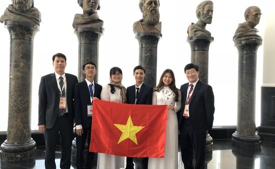 Năm 2018: Đoàn thí sinh Việt Nam giành 13 HCV, 14 HCB, 11 HCĐ Olympic