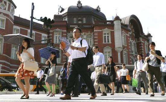 Nắng nóng kỷ lục ở Nhật Bản, nhiệt độ chạm mốc 41,1 độ C