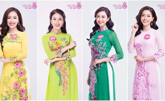 Ngắm nhan sắc 25 thí sinh đại diện phía Bắc lọt vào chung kết toàn quốc Hoa hậu Việt Nam 2018
