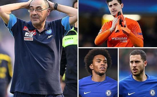 Phủ nhận mọi tin đồn, tân HLV Chelsea tin chắc giữ chân được Hazard, Wilian, Courtois