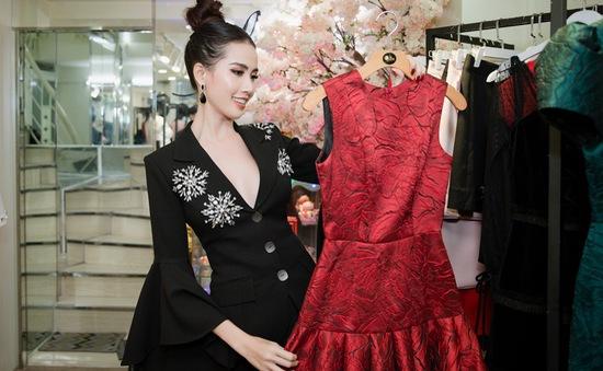 Phan Thị Mơ khoe trang phục thi hoa hậu của NTK Brian Võ, Hằng Nguyễn
