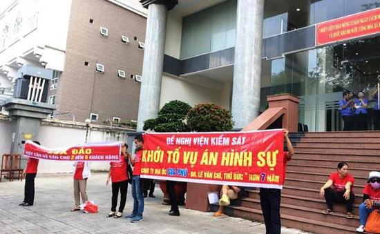 Yêu cầu phục hồi quyết định khởi tố hình sự chủ đầu tư chung cư Gia Phú