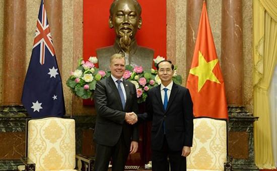 Chủ tịch nước tiếp Chủ tịch Hạ viện Australia