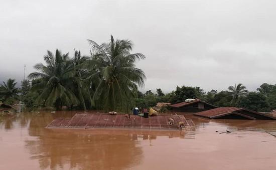 Sự cố vỡ đập thủy điện ở Lào ảnh hưởng không đáng kể đến diễn biến lũ ở ĐBSCL