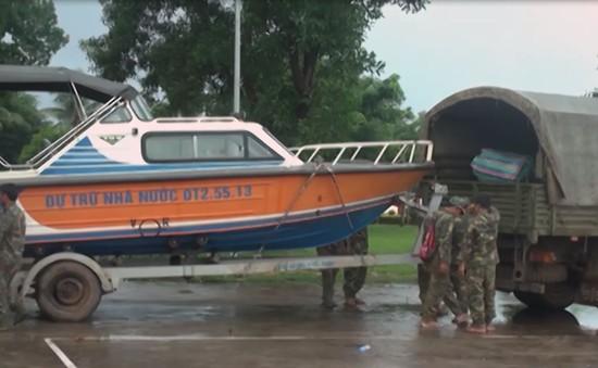 Quân khu 5 lập đoàn công tác giúp Lào khắc phục hậu quả vỡ đập